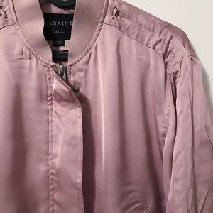 All Saints bomber jacket.